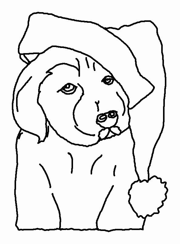 Christmas Pictures To Coloring Fresh Christmas Dog Coloring Pages Lineart Free Printable Dog Coloring Page Christmas Pictures To Color Puppy Coloring Pages