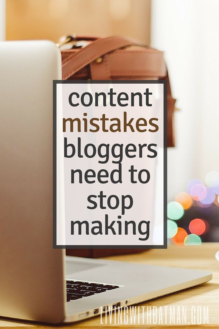 If you are wanting to break outside of just being read by other bloggers, be a successful blogger and/or you want to build your blog into a business. Raise your hand! Great! You know how they say that content is king? Here are some content mistakes you need to avoid in order to grow your blog audience.