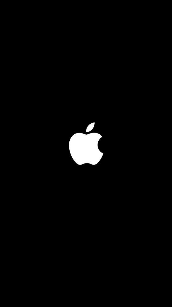 Das Apple-Logo steht immens auf einem einfachen Hintergrund. #iphone #IPhone #wallpaper # wallpapers – Ali Ağırdil