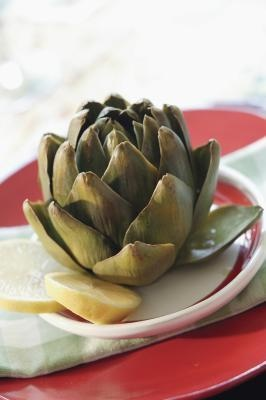 "artichokes -- super healthy addition to one's health & fitness plan.  So far, I've only enjoyed these in pasta dishes and I've made a few of my own.  A favorite healthy creation of mine includes two cans of quartered non-marinated artichokes (rinsed well!), one can of seasoned (""fire roasted"") diced tomatoes, one med-large sauteed onion, and 1tbl of olive oil -- makes approx 4 cups, 130-150 cal/cup.  I serve over whole wheat pasta (1 cup cooked, approx. 200 cal)."