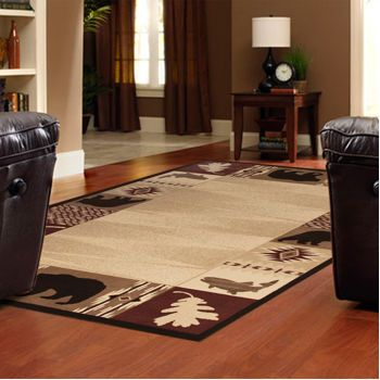 costco rustic retreat collection u2013 cheyenne machinemade rug - Costco Area Rugs