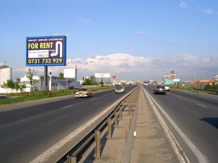 panouri publicitare autostrada A1