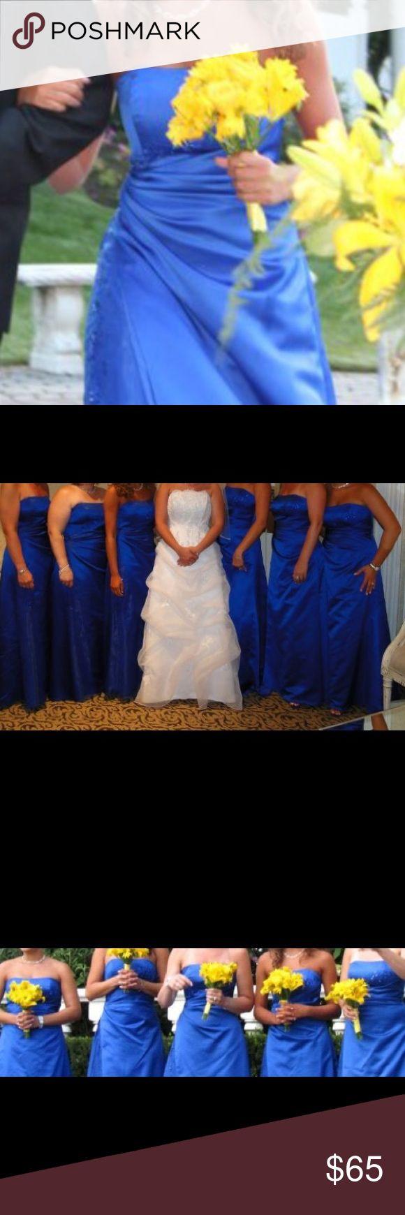 Prom dress / bridesmaid dress Strapless dress for sale. David's bridal. Size 2. Worn once. Smoke free home. David's Bridal Dresses Wedding
