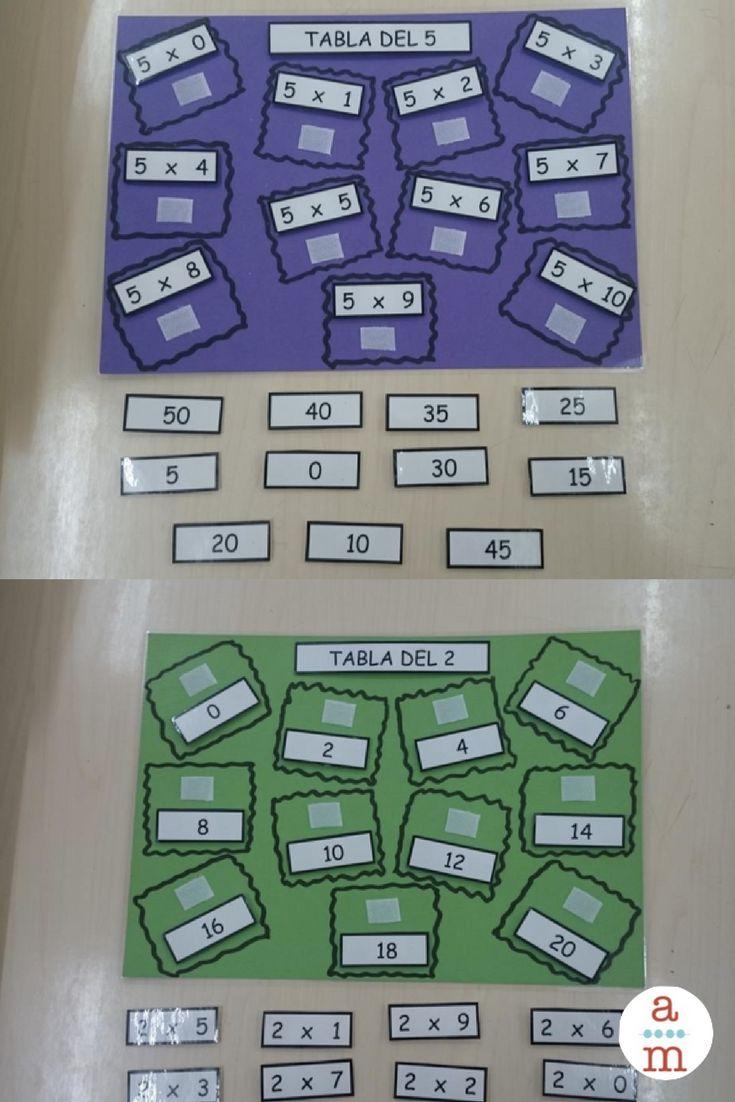 Un juego-tablero ideal para practicar las tablas de multiplicar.