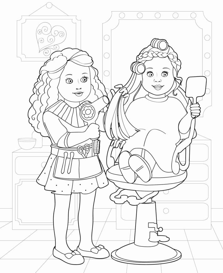 American Girl Doll Coloring Page Lovely Top 33 Peerless Coloring Pages Paper Realistic Template Coloring Books Abstract Coloring Pages Coloring Pages For Girls
