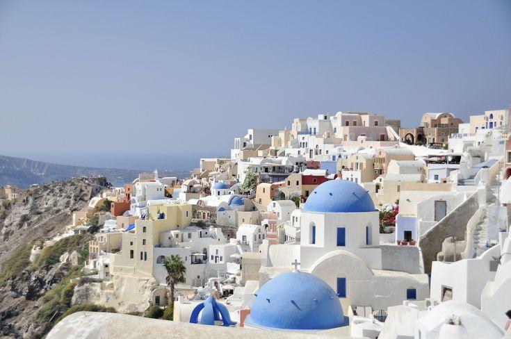 #Santorini is één van de meest opmerkelijke eilanden in #Griekenland