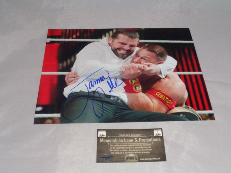 Jamie Noble WWE Autograph 8x10 COA Memorabilia Lane & Promotions