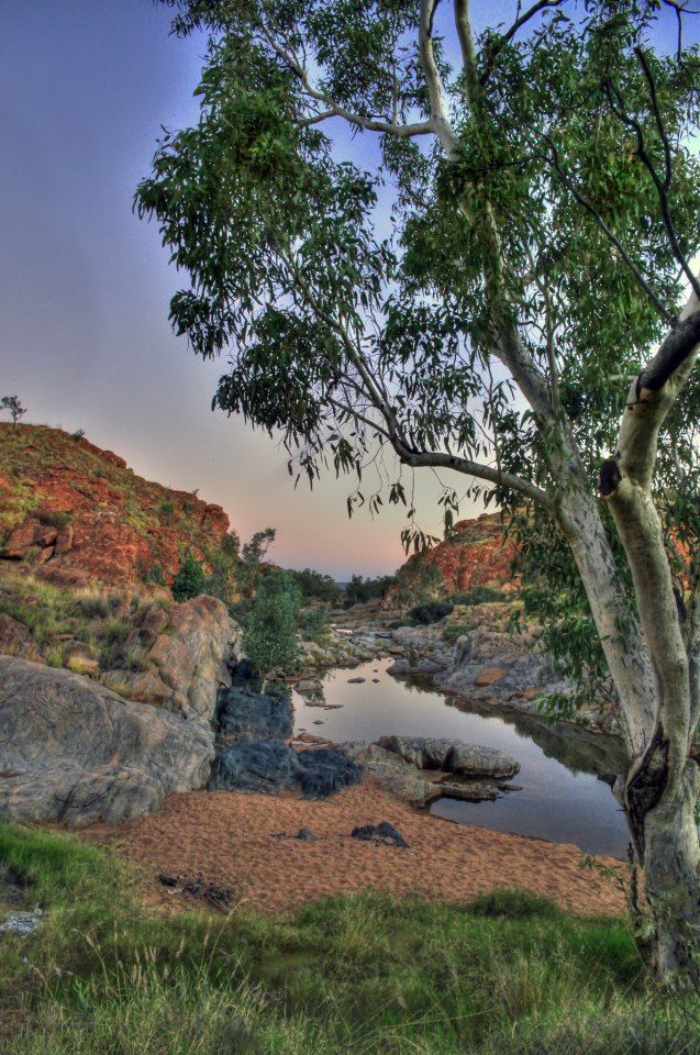 Aussie outback - photo by James McInnes