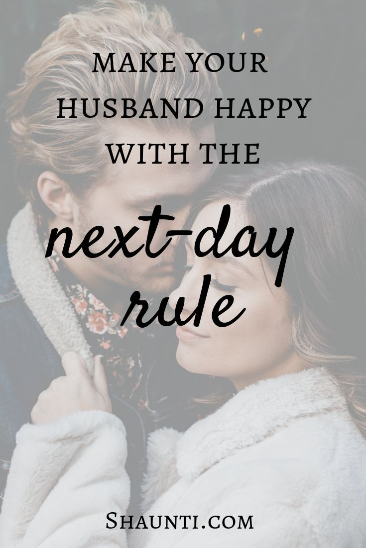 how to make your husband happy with you