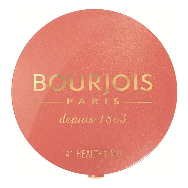 Bourjois Round Pot Blush (£7.99) ❤ liked on Polyvore featuring beauty products, makeup, cheek makeup, blush, wash bag, toiletry bag, bourjois blush, toiletry kits and round makeup bag