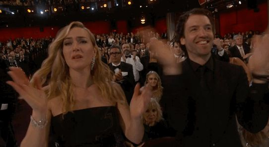 New trending GIF on Giphy. crying kate winslet clapping oscars 2016 standing ovation. Follow Me CooliPhone6Case on Twitter Facebook Google Instagram LinkedIn Blogger Tumblr Youtube
