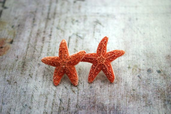 Starfish Earrings Beach Jewelry Hawaiian Jewelry by DRaeDesigns, $12.00