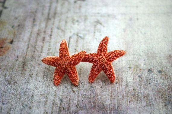 Starfish Earrings Beach Jewelry Hawaiian Jewelry by DRaeDesigns, $12.00