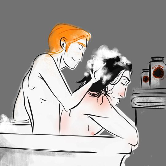 Aiden/Steve take a bath together... (for Conny XD :P)
