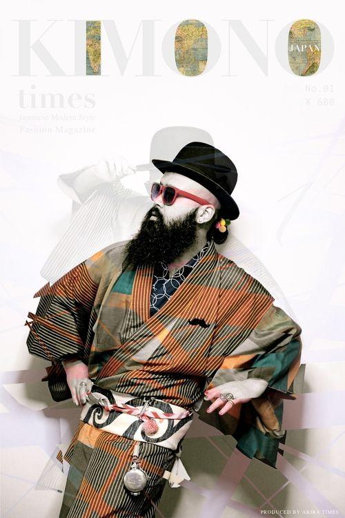 『 KIMONO TIMES - JAPAN 』 Japanese modern style - No.01. AKiRa Times