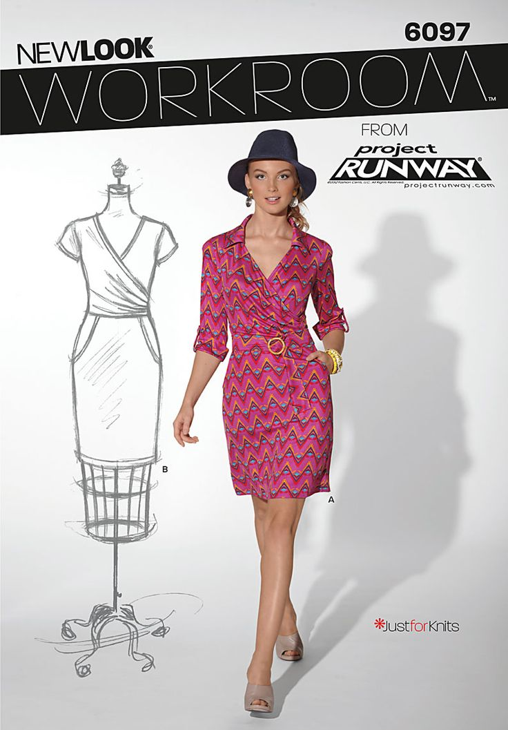 490 best dress images on Pinterest   Feminine fashion, Sewing ...