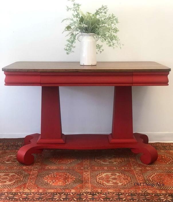 Pin On Red Vintage Furniture