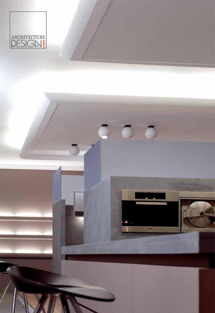 Loft in Hamburg #nmcgroup #architecturedesign #interiordesign #mouldings #decoration