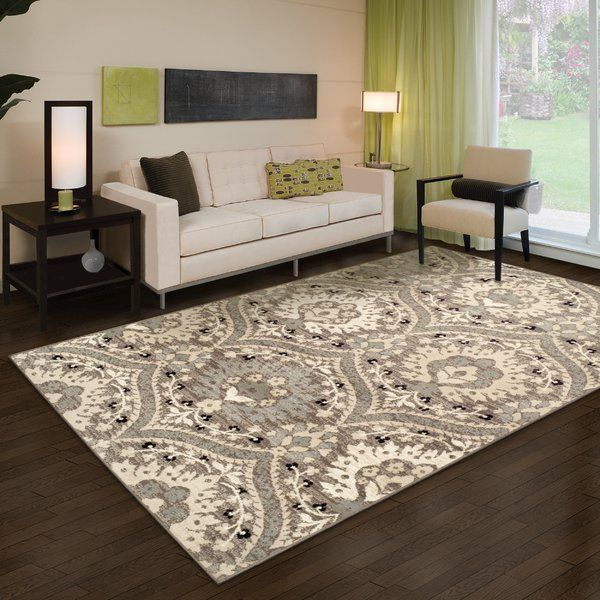 The Sophisticated Design Of This Area Rug Is Bound To Bring An Elegant Touch To Any Room Crafted From Qua Rugs In Living Room Beige Area Rugs Rustic Area Rugs