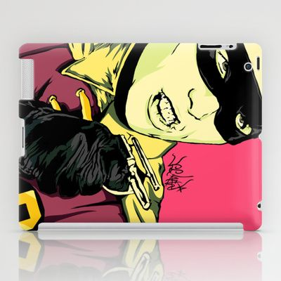 Holy Burt-man! iPad Case by Vee Ladwa - $60.00