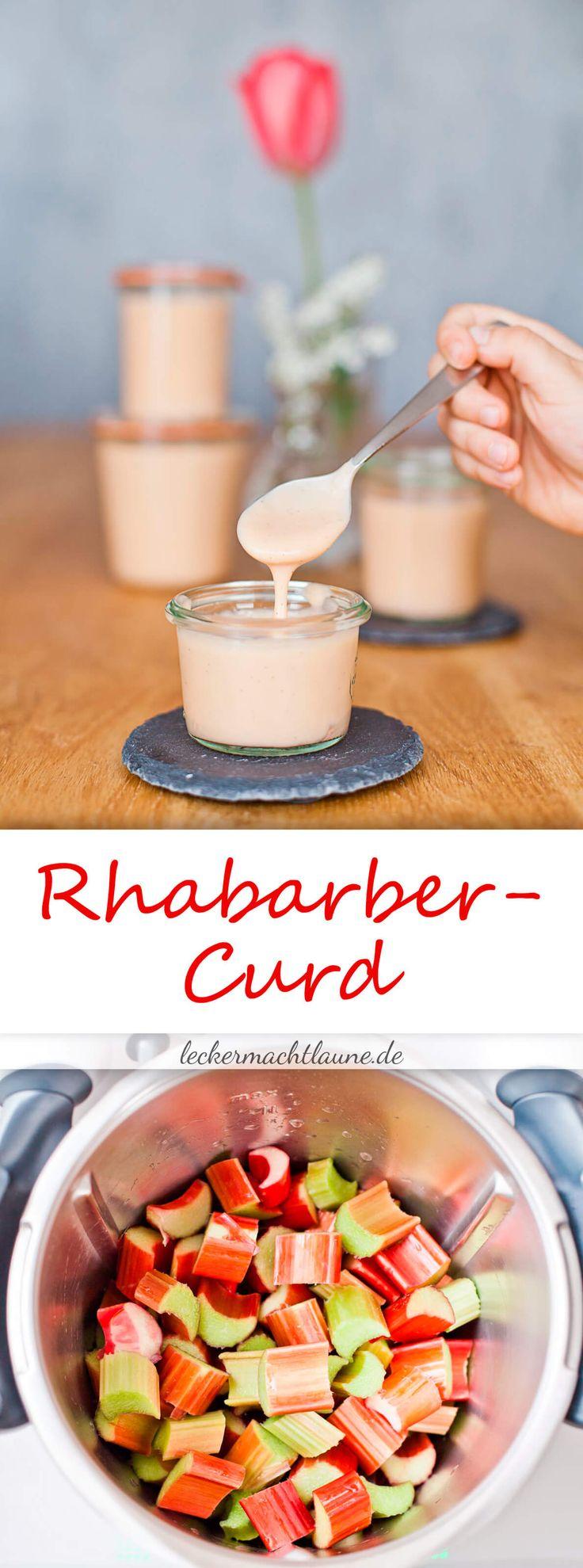 So gegen Ende dieser Rhabarbersaison habe ich ein sehr leckeres Rezept für Rhabarber Curd für Euch. Und das mit und ohne Thermomix®.