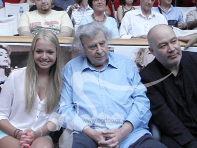 MIKIS THEODORAKIS 17/7/2013 στην avant-premiere της κινηματογραφικής ταινίας «Ανακυκλώνοντας τη Μήδεια».