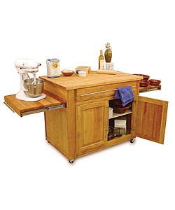 Craftsmen Empire Island Kitchen Cart