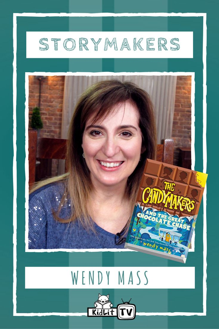 Watch Storymakers as KidLit TV Host  Rocco Staino interviews the versatile children's literature author Wendy Mass. Wendy is the author of several books that encourage teamwork and exploration. Kids will love digging into Wendy's books at home, in school, or the library.