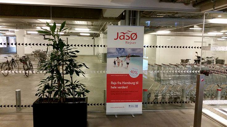 Borgen Sønderborg parkeringskælder  JASØ Rejser profil banner