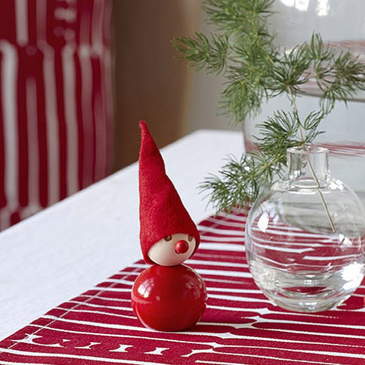 Aarikka - Christmas : Punanenä table decoration