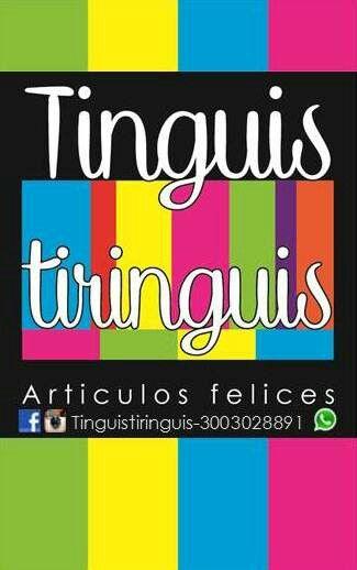TinguisTiringuis Articulos☆Felices  Envíos nacionales Colombia