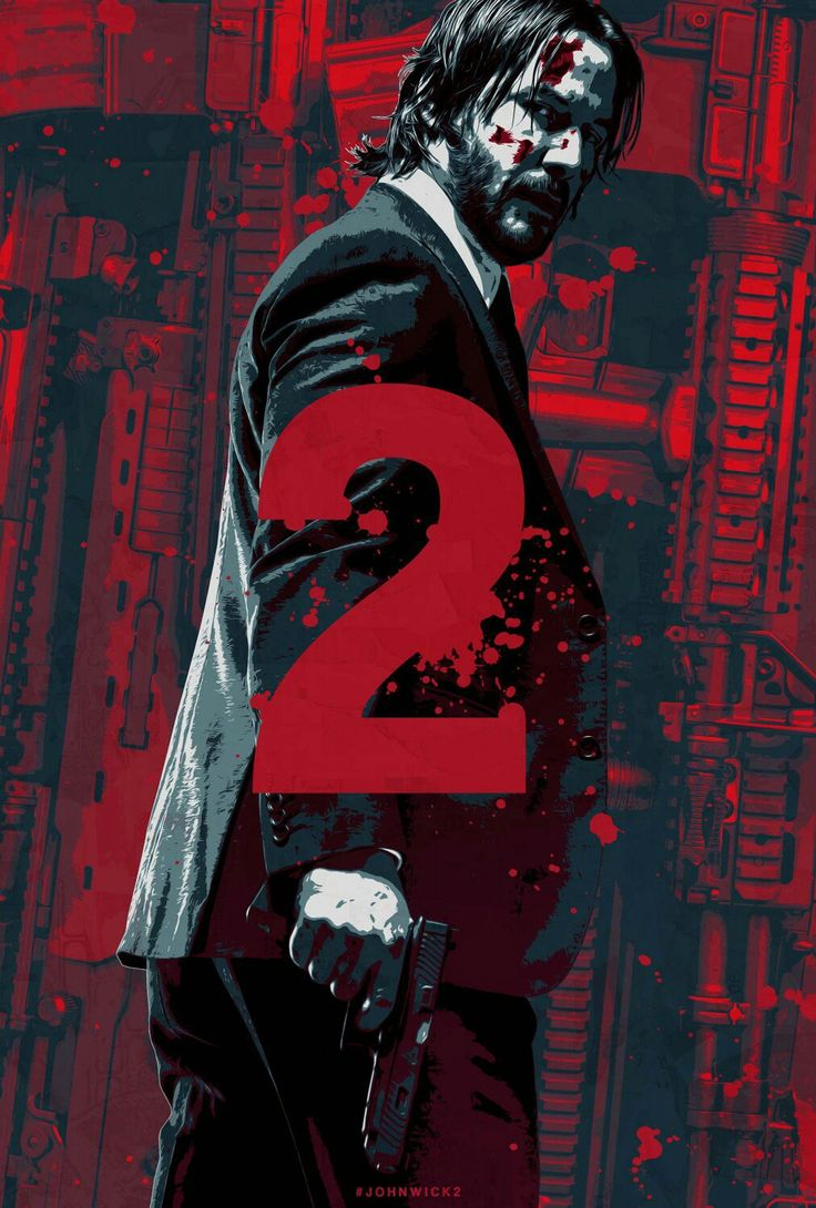 """#JohnWick 1 & 2 were both pretty good movies! The 3rd one should be pretty awesome as well. One of the only """"action"""" movies I've seen in which the main character uses the preferred """"triple-tap"""" method of removing obstacles."""