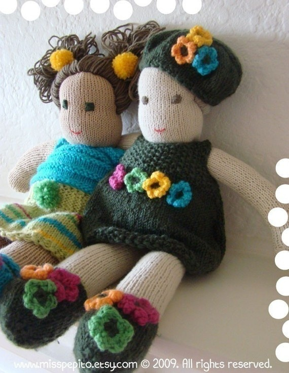 17 Best images about Knitting/Sewing for dolls /toys on ...