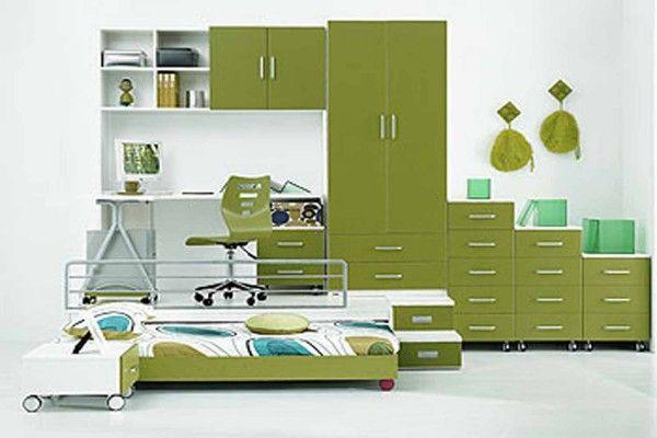 Colorful Green Interior Design Bedroom Furniture Direct.