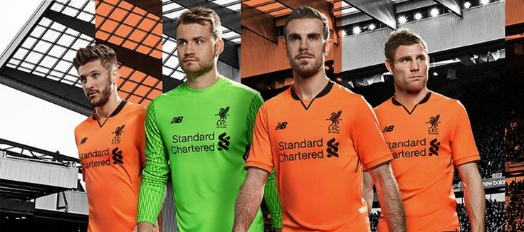 ORANGE!? The Liverpool third kit for the 2017-18 season is out and it's - well - orange. The club is no stranger to bold colours on occasion, but this comes as a surprise. The Dutch national team may be envious!
