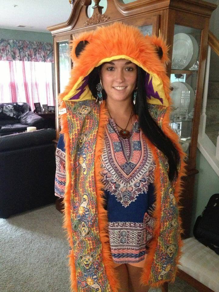 Jerry Bear Grateful Dead Bear Hood by SacredKin on Etsy, $145.00