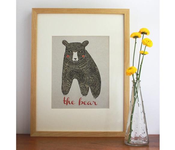 the bear print ++ gingiber