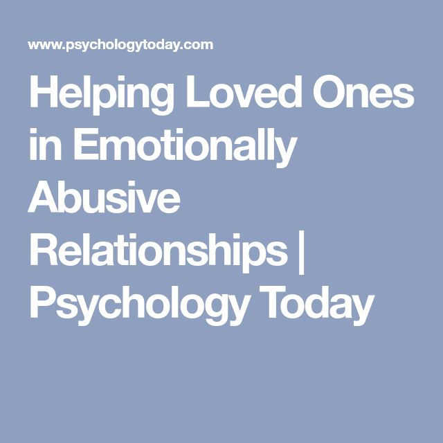 7 Tips to Avoid Verbally Abusive Relationships