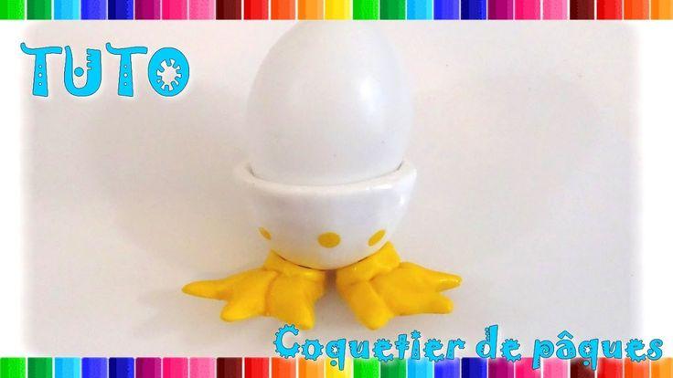 { tuto } Coquetier de Pâques | pâte polymère | Collab. Miss Créatives