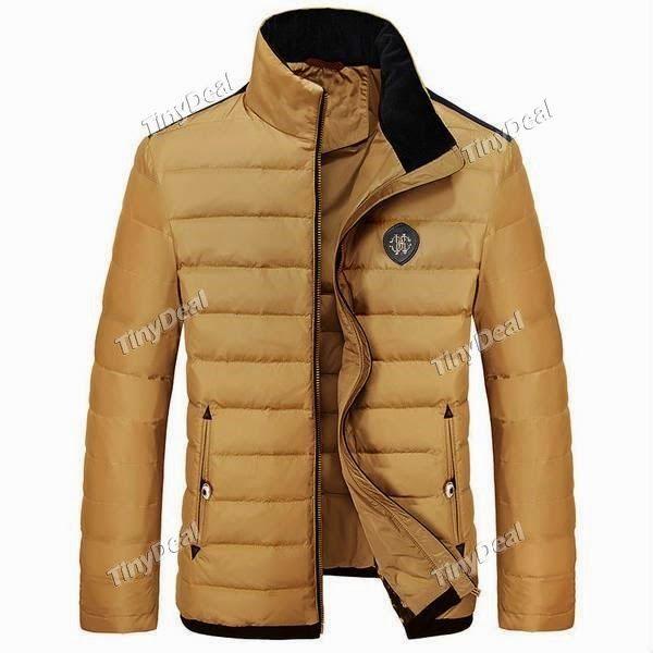 Интернет - магазины : Мужская верхняя одежда, стильная куртка для зимнег...