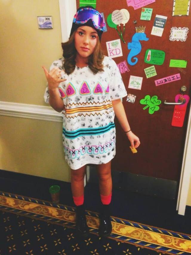Kappa Delta Gamma Gamma sister as Shaun White