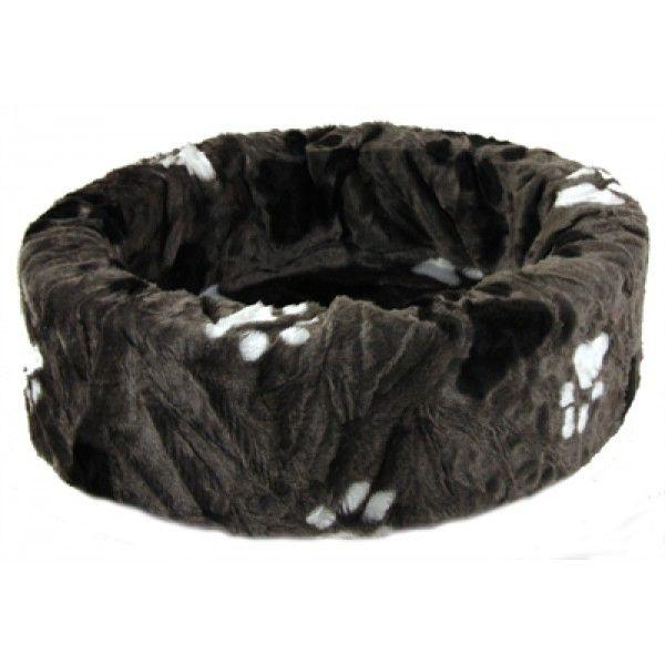 Comfortabele, zachte ligmand voor katten of honden.   Uitgevoerd in beige imitatiebont. Deze ligmand onderscheidt zich van andere producten door de kwaliteit van de stof en de stevige schuimrubberen kern.