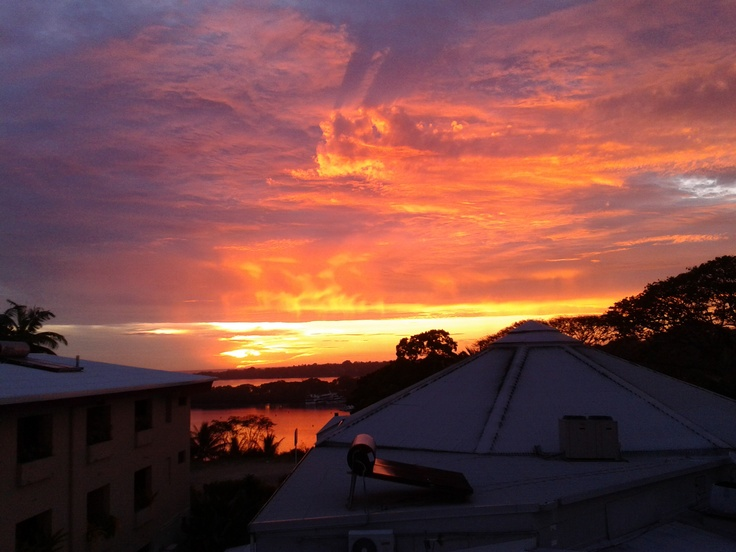 Port Vila, Vanuatu sunset