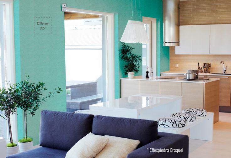 Texturas: Opta por colores claros en cortinas, tapices, cojines y tapetes con texturas tejidas y ligeras junto con estampados florales o a rayas en colores pastel.