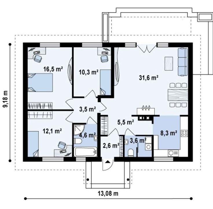Картинки план дома одноэтажного