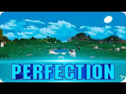 Minecraft - Pixel Perfection Resource Pack! 16x16 Texture Pack with Custom Sky! 1.8.7 / 1.8 - YouTube