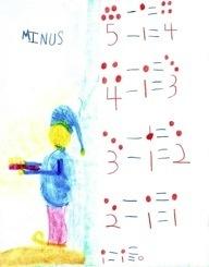Waldorf ~ 1st grade ~ Math ~ Four Processes: Subtraction ~ Second Block ~ main lesson book