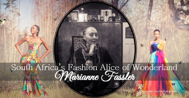 Doyenne of South Africa's Fashion Industry: Marianne Fassler #SouthAfrica #FashionPhotography