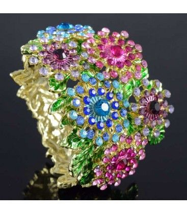 Miriam Stella - Bracciale Flower #miriamstella #fashionblogger #moda #fashion #madeinitaly #fashionjewelry #jewelry #jewels #bracelets #flowers #pinkflowers #pink