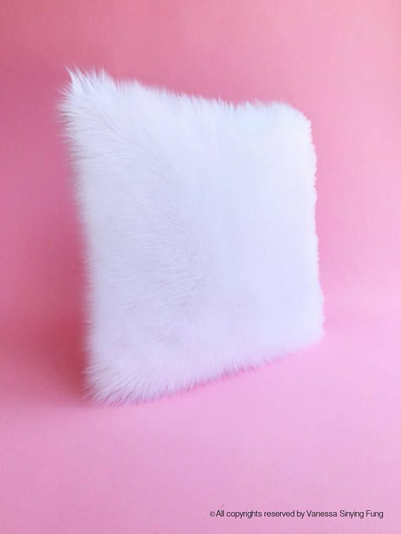 White fur pillow covers 22 X 22 white fur white suede pillow cover decorative ONE (1st picture is White; 2nd picture is Ivory) ONE new handmade pillow cover - Insert is NOT included- Buy 14X14, 16X16, 18X18, 20x20. Please Click the following: